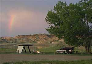 Camping is available at Hell Creek State Park.